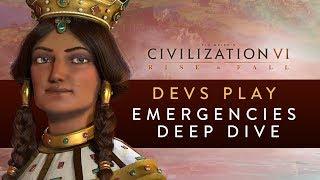 Video Civilization VI: Rise and Fall - Devs Play Georgia (Emergencies Deep Dive) MP3, 3GP, MP4, WEBM, AVI, FLV Maret 2018