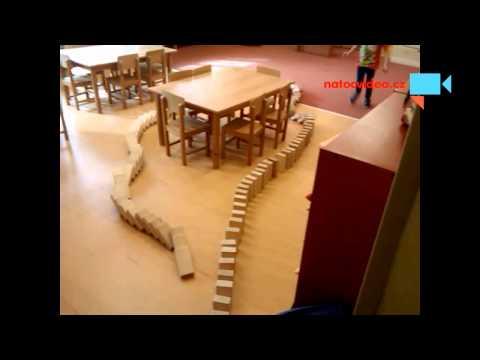 Domino v mateřské školce Třeboradice