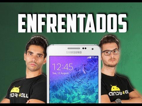 samsung - Puedes comprar tu Galaxy Alpha aquí: http://amzn.to/1suWAzR Suscríbete a Andro4all: http://bit.ly/14EIQwt Nuevo enfrentamiento por el Samsung Galaxy Alpha. El diseño Premium tiene diferente...