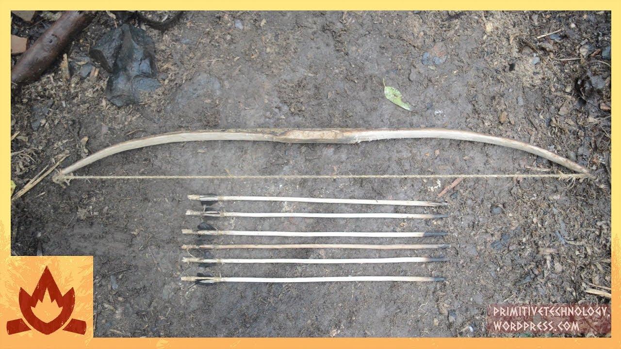 Сделай лук и стрелы своими руками видео