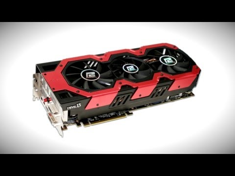 Motherboards.org - Today's best PC & Tech Deals! http://amzn.to/R7i3T6 Official: PowerColor HD 7990 Devil13 Dual GPU 6GB Video Card! Complete Specs & Details: http://www.powerc...