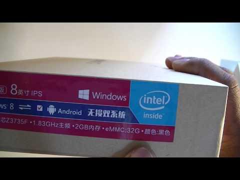 Chuwi Vi8 Super DualBoot windows/android Tablet