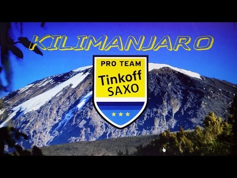 Film released of Alberto Contador, Peter Sagan and Tinkoff-Saxo team climbing Kilimanjaro