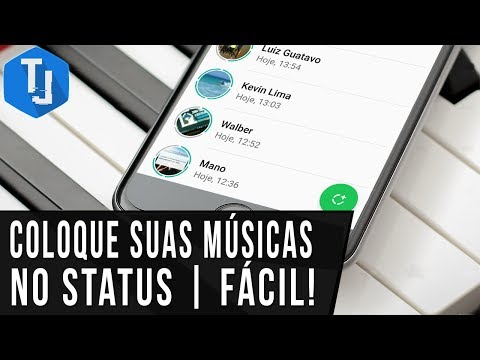 Status de música - Como colocar suas músicas no STATUS do WhatsApp  Método RÁPIDO (Android e iOS)