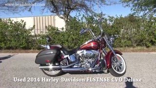 6. 2014 HARLEY DAVIDSON CVO DELUXE FLSTNSE FOR SALE
