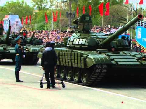 Минирепортаж с Парада Победы в Самаре 9 мая 2015 года