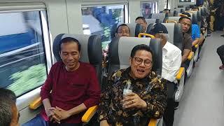 Video Pakai Kaos, Jokowi Jajal Kereta Bandara Soetta MP3, 3GP, MP4, WEBM, AVI, FLV April 2018
