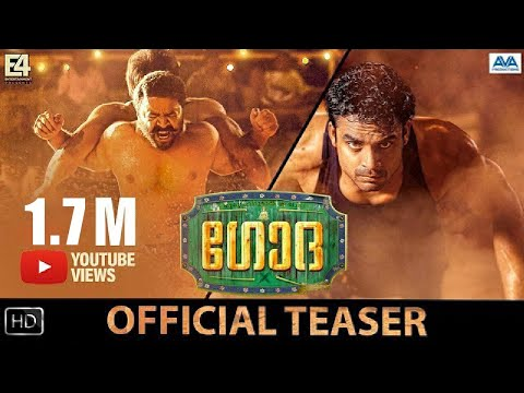 Godha | Malayalam Movie Teaser | Tovino Thomas, Renji Panicker