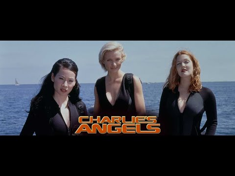Charlies Angels 2000 - Cameron Diaz, Drew Barrymore, Lucy Liu , Action, Adventure, Comedy - hd.