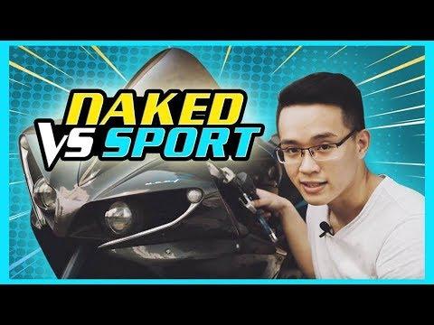 PKL - Chọn mua xe mô tô Naked hay Sport? (Naked bike or sport bike?) - Thời lượng: 16 phút.