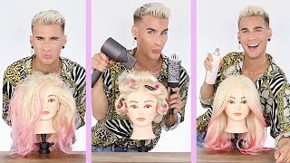 """Video How The Perfect """"Hairdresser Blowout"""" is Achieved! Try At Home! MP3, 3GP, MP4, WEBM, AVI, FLV Juni 2019"""