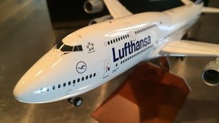 Video Unboxing and review Gemini 200 G2DLH572, 1:200 Lufthansa Boeing 747-8, D-ABYC MP3, 3GP, MP4, WEBM, AVI, FLV Juni 2018