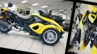 4. 2009 CAN-AM Spyder RS Roadster for sale in Atlanta