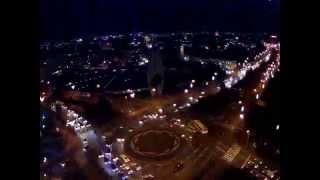 Pomnik w Rzeszowie 24h - timelapse