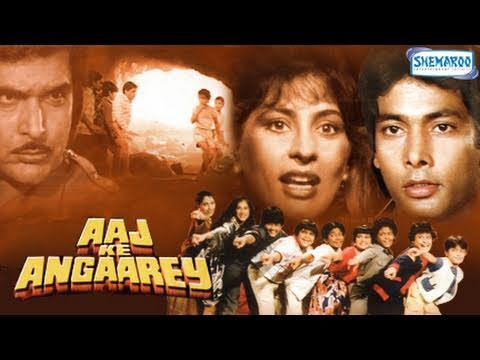 Aaj Ke Angaarey - Hindi Full Movie  - Hemant Birje, Archana Puran Singh - Hit Hindi Movie