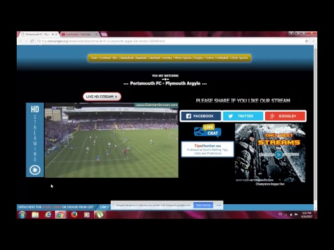 Portsmouth Fc vs Plymouth  LIVE!