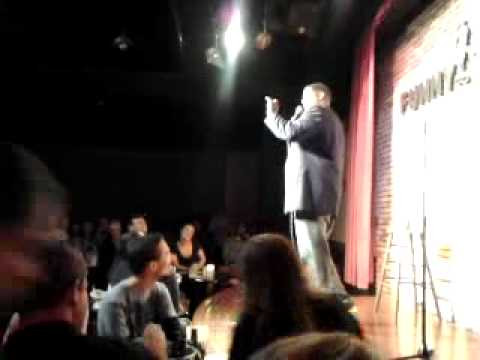 Brian Million talks with Mom about Proctology at Brian's Million's Comedy Clash