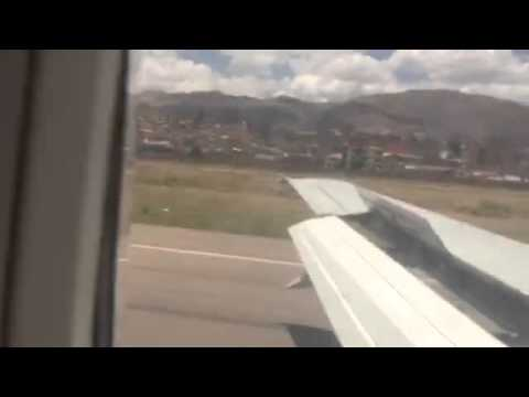 Жесткая посадка самолета