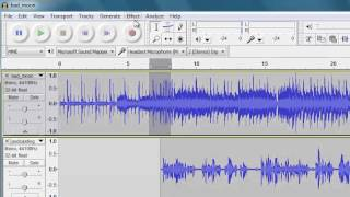 Video Getting started with Audacity: Mixing multiple tracks MP3, 3GP, MP4, WEBM, AVI, FLV Mei 2019