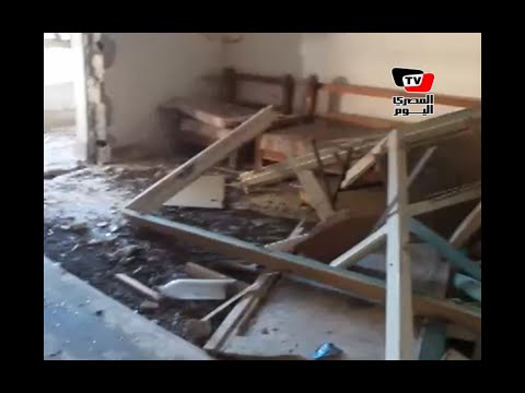 آثار هجوم العريش على المنازل.. ومواطن:«الضرب استمر ٦ ساعات»