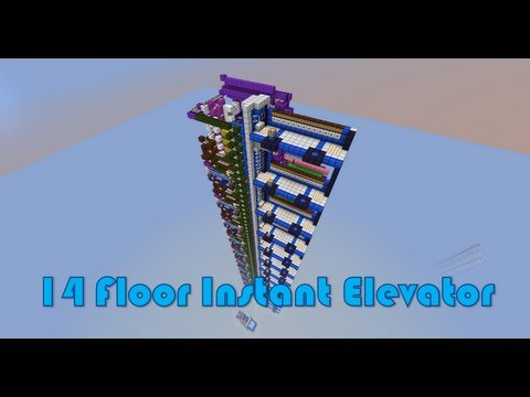 14 Floor Instant Piston Elevator Up And Down Super Fast