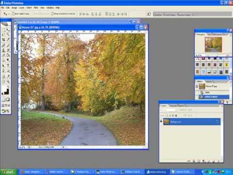 Cara menyatukan gambar dan memblurkannya di Photoshop