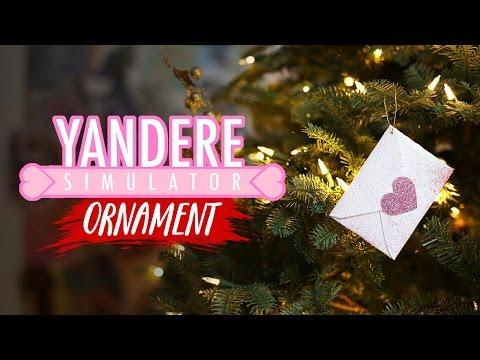 Yandere Simulator Love Letter Ornament - DIY GG