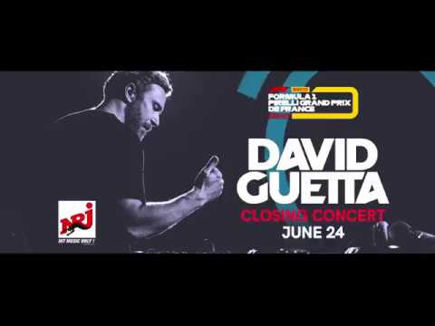 David Guetta - Grand Prix de France F1 2018 closing concert trailer