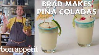 Brad Makes BA's Best Piña Coladas | From the Test Kitchen | Bon Appétit