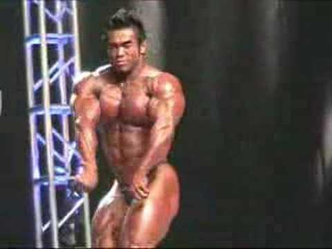 Хидетада Ямагиши на 2007 Mr.Olympia Finals