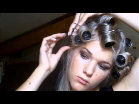 comment appliquer rouleaux cheveux