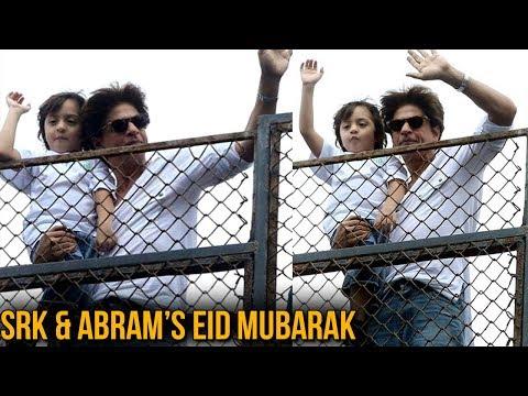 Bakri Eid 2018 | Shah Rukh Khan And Son Abram Gree