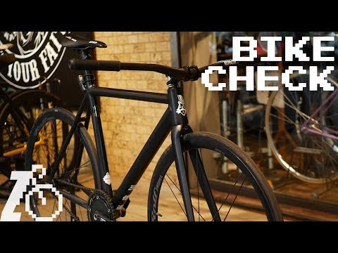 All the Stiffness | Revolve Cycles Fixed Gear Bike Check