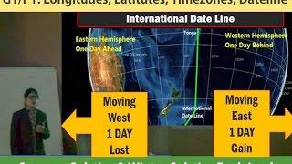 G1/P1: Longitudes, Latitudes, Timezones & Dateline