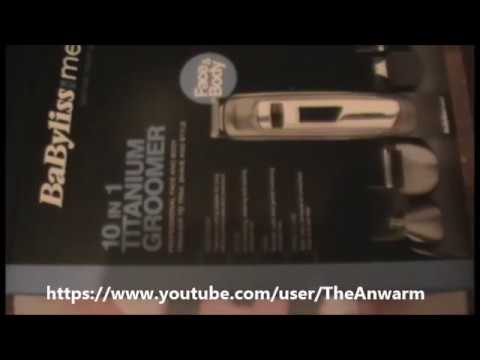 Babyliss 10 in 1 Titanium Groomer 7235U (Review)