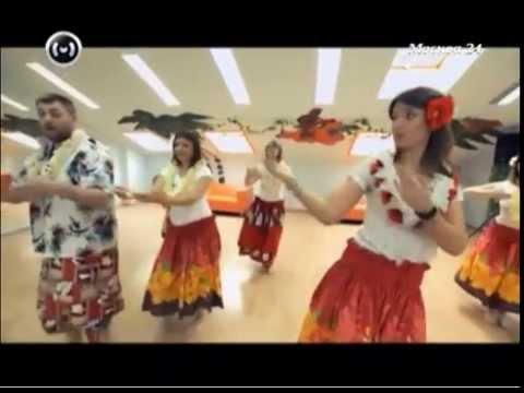 Гавайский танец в Программе Стиль Жизни на Москва 24