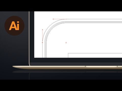 Learn How To Draw A Vector Macbook In Adobe Illustrator | Dansky