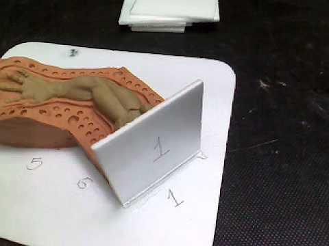 Dvd moldes de silicone