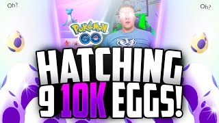 OH MY GOD WE DID IT! LIKE + SUBSCRIBE for the LUCKIEST 10k Egg Hatching ever!! SEND IN YOUR SIGHTINGS: ★ TWITTER: https://twitter.com/SUKnives ★ INSTAGRAM: h...