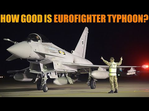 How Good Is The Eurofighter Typhoon - Better Than JAS-39 Gripen?