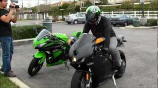 10. DUCATI 749 With TERMIGNONI Exhaust Review By A Kawasaki Ninja ZX6R Rider Motorcycle VLOG