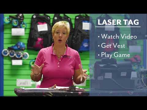 Laser Tag Introduction at Skate World Waco