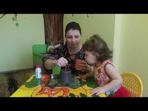 Развивающее занятие для детей \Извержение вулкана в домашних условиях\
