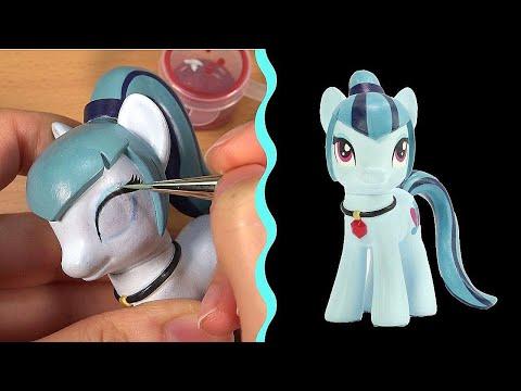 Custom SONATA DUSK My Little Pony EQUESTRIA GIRLS Tutorial MLP DIY    SweetTreatsPonies