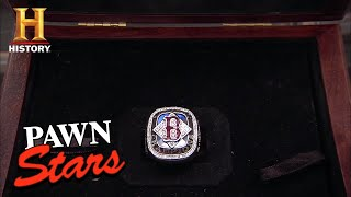 Pawn Stars: 2004 Boston Red Sox World Series Ring (Season 8) | History