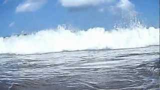 Tsunami Pangandaran caught in the act !!!