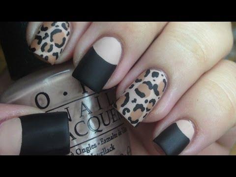 nail art - elegantissima leopard opaca