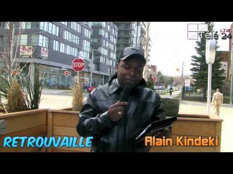TÉLÉ 24 LIVE: Retrouvaille – ALAIN KINDEKI VA RECEVOIR MAMAN MARTHE DE LA VIE EST BELLE