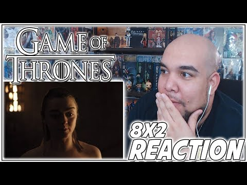 "Game of Thrones Season 8 Episode 2 REACTION ""A Knight of the Seven Kingdoms"" PT 2 - 8x2 Reaction"