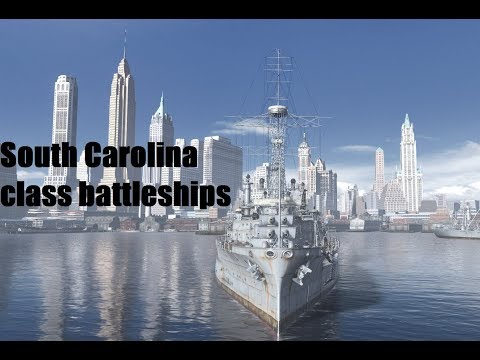 Warship History - South Carolina Class Battleships